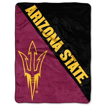 "NCAA Arizona State Sun Devils ""Halftone"" 46""x 60"" Micro Raschel Throw](Arizona Trading Company)"