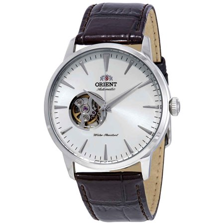 Orient Open Heart Automatic White Dial Men's Watch (Automatic Open Heart)