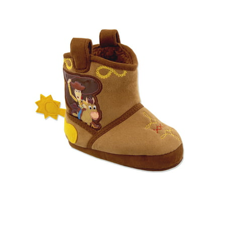 Toy Story Woody Boys Toddler Costume Cowboy Boot Slippers CH29893 (Costume Cowboy Boots)