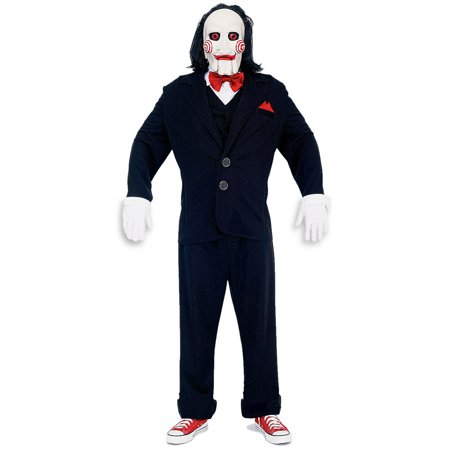 Deluxe Jigsaw Puppet Adult Costume - - Puppet From Saw
