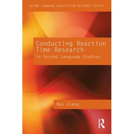 - Conducting Reaction Time Research in Second Language Studies - eBook