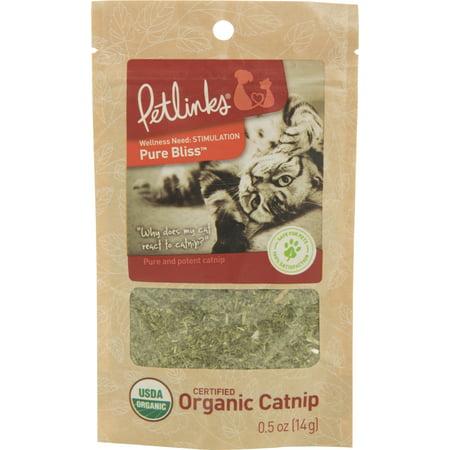 Worldwise Catnip (Worldwise Inc-Pure Bliss Organic Catnip Pouch 0.5 Oz )