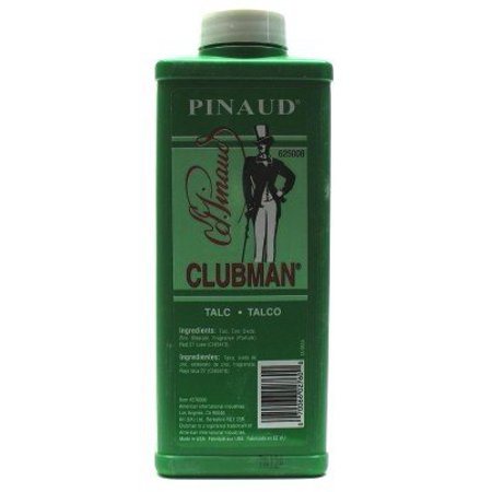 - Clubman Talc 9 oz. (3-Pack) with Free Nail File