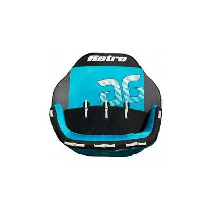 Aquaglide 58-5216619 Retro 4 Blue 4-Person Inflatable Towable Tube