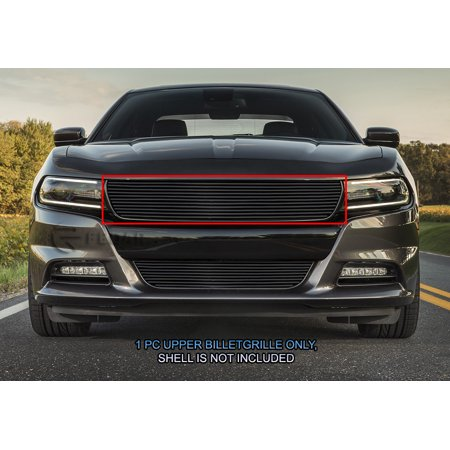 Fedar Main Upper Billet Grille For 2015-2017 Dodge Charger-Black