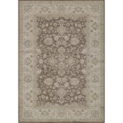 Momeni Caspian Treasure Brown Floral Power-Loomed Rug (2'x3') by Overstock
