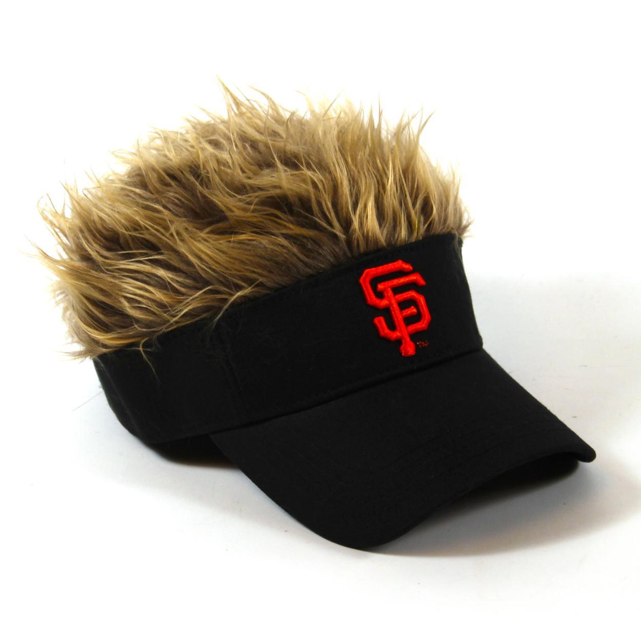 8b0fc4120db San Diego Padres Flair Hair Visor - No Size