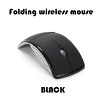 2.4G Wireless Mouse Foldable Computer Mouse Mini Travel Notebook Mute Mouse USB Receiver for Laptop PC