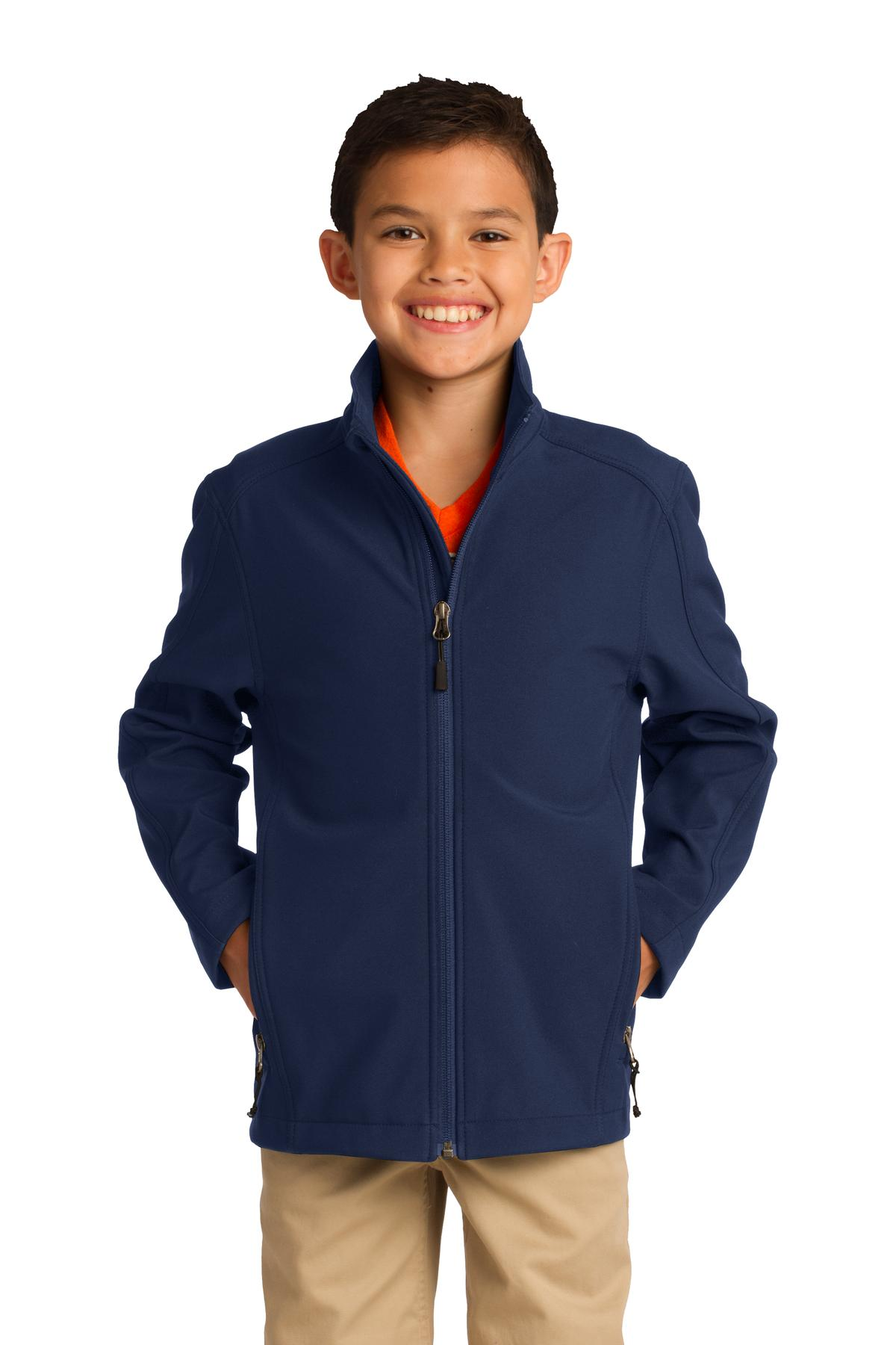 Port Authority Boy's Core Soft Shell Jacket - Y317