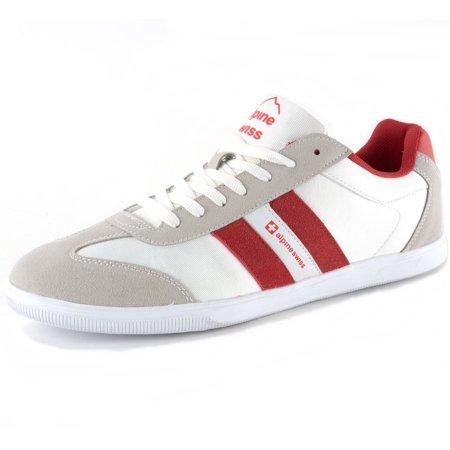 Alpine Swiss Haris Mens Retro Striped Athletic Shoes Fashion Sneaker Tennis Shoe