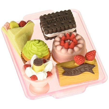 Iwako Japanese Eraser Set - Dessert Assortment (Iwako Food Erasers)