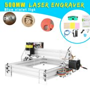 500mw Laser Engraving Machine USB Laser Engraving Marking Machine Paper Wood Cutter DIY Printer Engraver 2 Axis 2 Phase 4 Wire