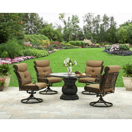 Sale better homes and gardens bailey ridge 5pc dining set alexandra square 5 piece patio Better homes and gardens website