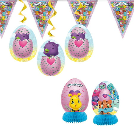 Hatchimals Party Decoration Kit, 7pc - Outside Party Decorations