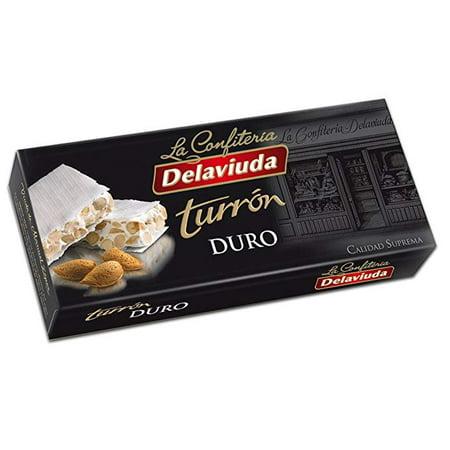 De la Viuda Turron Duro Crunchy Almond Turron 5.25 OZ ()