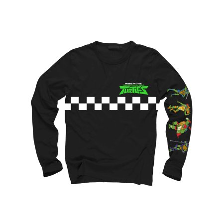 Teenage Mutant Ninja Turtles Onesie (Long Sleeve TMNT Caroon Graphic Tee Shirt (Big)