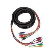 Hosa CRA-802 RCA-RCA 8-Channel Multitrack Recording Snake