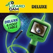 Official As Seen On TV Atomic Beam Lizard Cam Hand-Held Inspection Camera by BulbHead, Wireless Micro Inspection Camera Includes 3 Tips & Storage Bag (Deluxe) …
