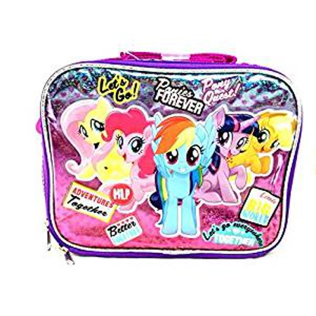 Lunch Bag - My Little Pony - Ponies Forever Friends Girls New 149097 - My Little Pony Party Tote Bag