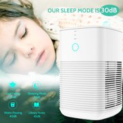 GBlife 3-in-1 Air Purifier with True Hepa Filter, Captures Allergens, Smoke, Odors, Mold, Dust, Germs, Pets, Smokers, Small Room Home Air Purifier