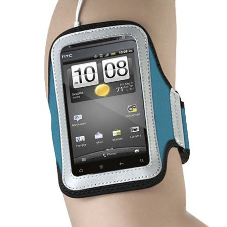 Universal Sport Armband for Apple iPhone 3GS/3G, iPhone 4S/4, iPhone 5/5S SE, iPod Touch 4th Gen Touch 5th Gen Touch 6th Gen - Light Blue