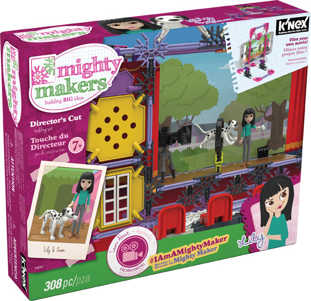 Knex 43067 Mighty Makers Directors's Cut Build Set, 308-Piece by Knex Limited Partnership Group