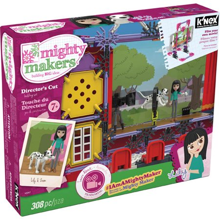 Knex Serpents - K'NEX Mighty Makers Director's Cut Building Set