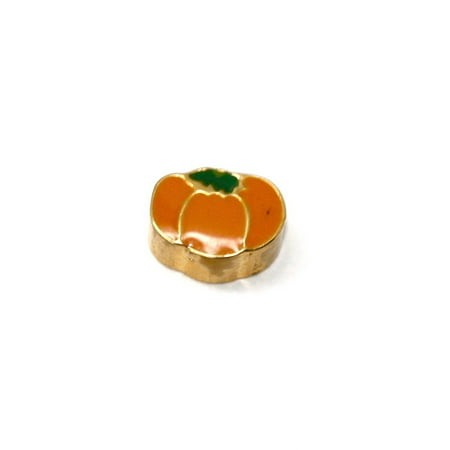 BRACCIALE DISNEY MAGIC PUMPKIN GOLD STAINLESS STEEL GOLD PLATED CHARM - Disney Pumpkin