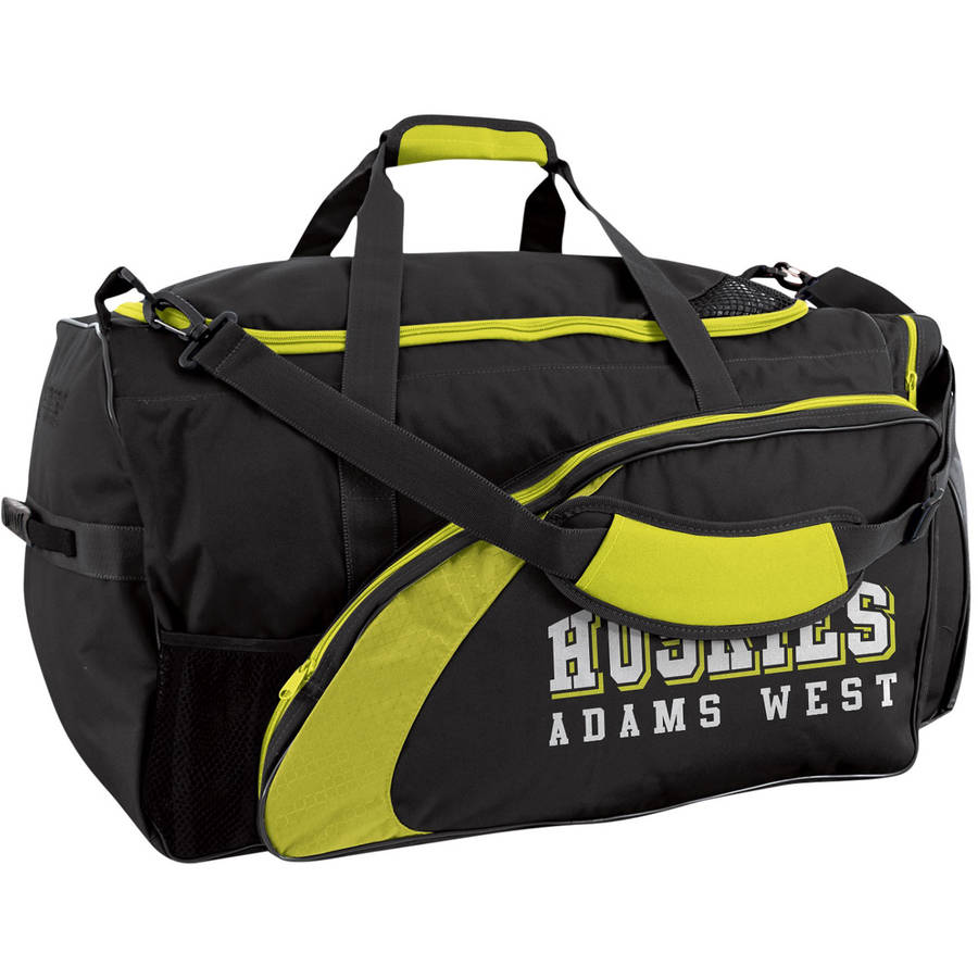 "Champro Varsity Football Equipment Bag, 28"" x 15"" x 15"", Black"