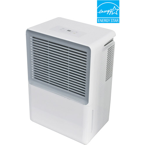 Sunpentown ENERGY STAR 40-Pint Dehumidifier, White