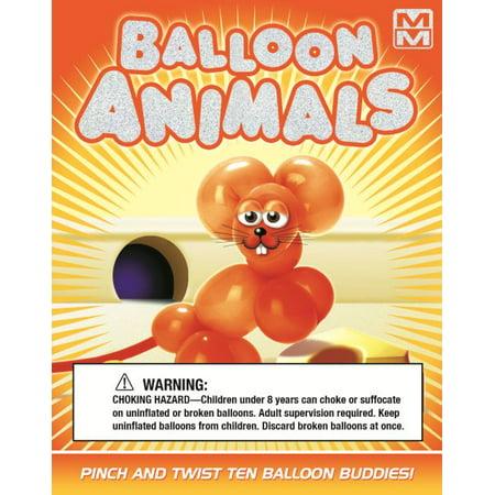 - Mini Maestro: Balloon Animals: Pinch and Twist Ten Balloon Buddies! (Paperback)