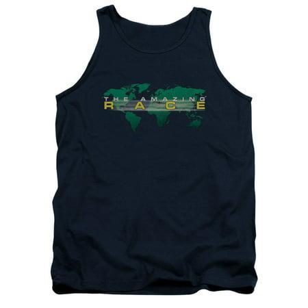 Amazing Race Men's  Around The World Mens Tank (Us Navy Mess Dress)