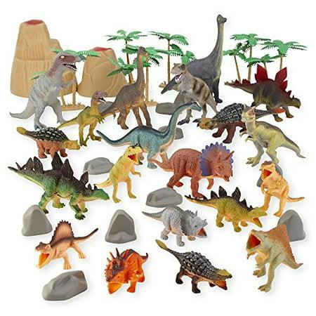 Animal Planet's Big Tub of Dinosaurs, 40+ Piece Set - Dinosaur Animal Planet