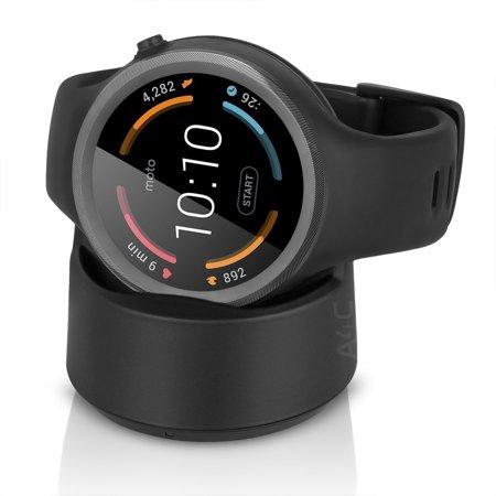 Motorola Moto 360 Sport Smartwatch   45Mm  Black  Refurbished