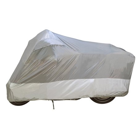 Guardian By - UltraLite Indoor/Outdoor Motorcycle Cover - 2 Year Limited Warranty - Water Resistant - UV Protection - Gray - Medium [ 26010-00 ], Water.., By Dowco Ship from US (Guardian Motorcycle Cover Alarm)