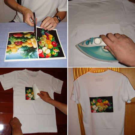 T-Shirt Inkjet Iron-On Heat Transfer Paper For Fabric Cloth, A3 16 5