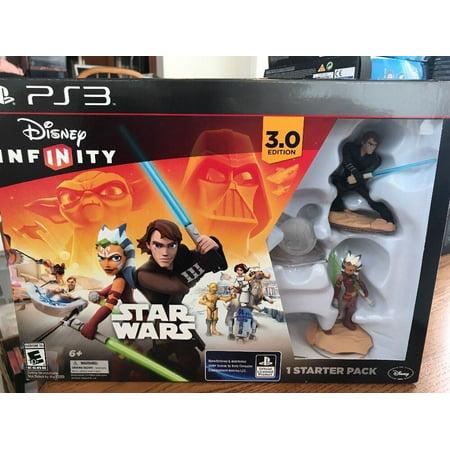 Disney Infinity STAR WARS Starter Pack for PS3 Anakin Ansoka Tano NEW in Box (Disney Infinity Ps3)