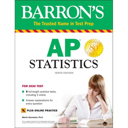 Barron's AP Statistics with Online Tests (Teaching Ap Statistics For The First Time)