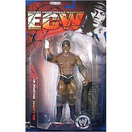 Elijah Burke Action ECW SERIES 2 Figure, Extreme championship wrestling figure By WWE JAKKS ELIJAH BURKE ECW SERIES 2