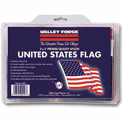 Valley Forge Flag Nylon Replacement Flag American