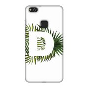 Huawei P10 Lite Case, Premium Handcrafted Designer Hard Snap on Shell Case ShockProof Back Cover for Huawei P10 Lite - Tropical Fern- D