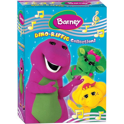 Barney - The Dino-Riffic Collection!