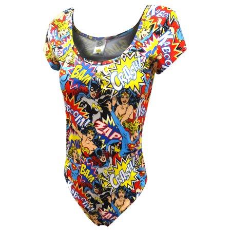 Batgirl Supergirl and Wonder Woman Bodysuit