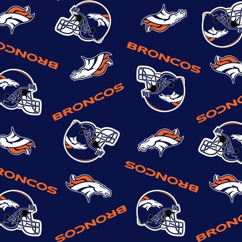 NFL Denver Broncos Fleece Fabric