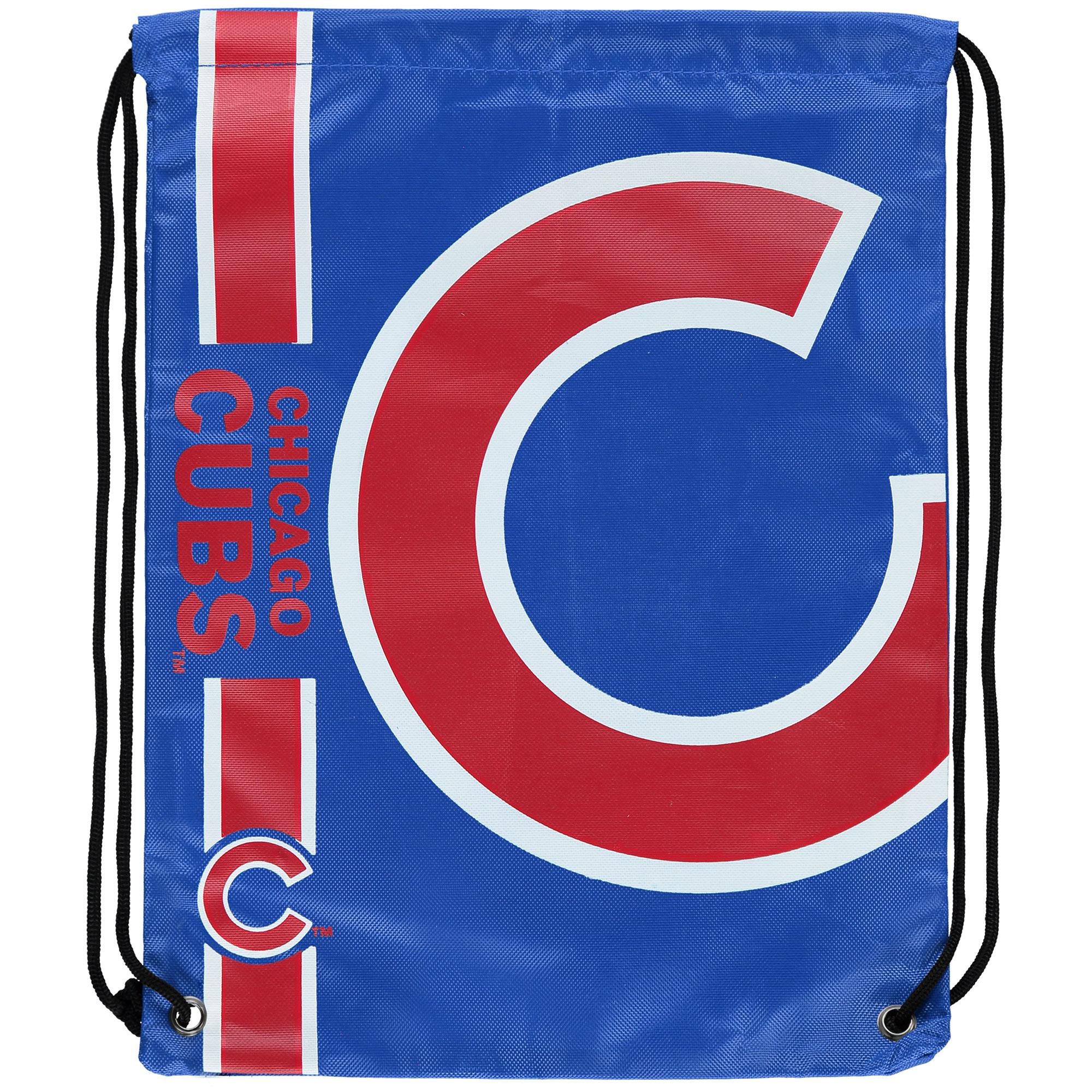 Chicago Cubs Big Logo Drawstring Backpack - No Size