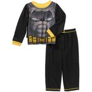 Batman Toddler Boys' Pajamas 3-Piece Set with Cape by