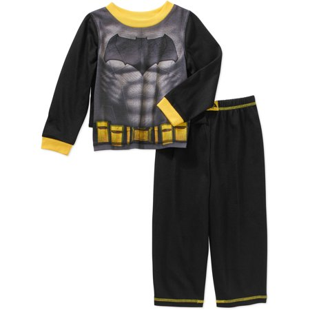 Batman Toddler Boys Pajamas 3 Piece Set With Cape