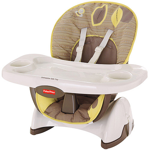 Fisher-Price SpaceSaver High Chair, Snugabear