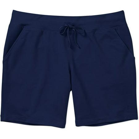 4eb821372eb Danskin Now - Women s Plus-Size French Terry Bermuda Shorts - Walmart.com