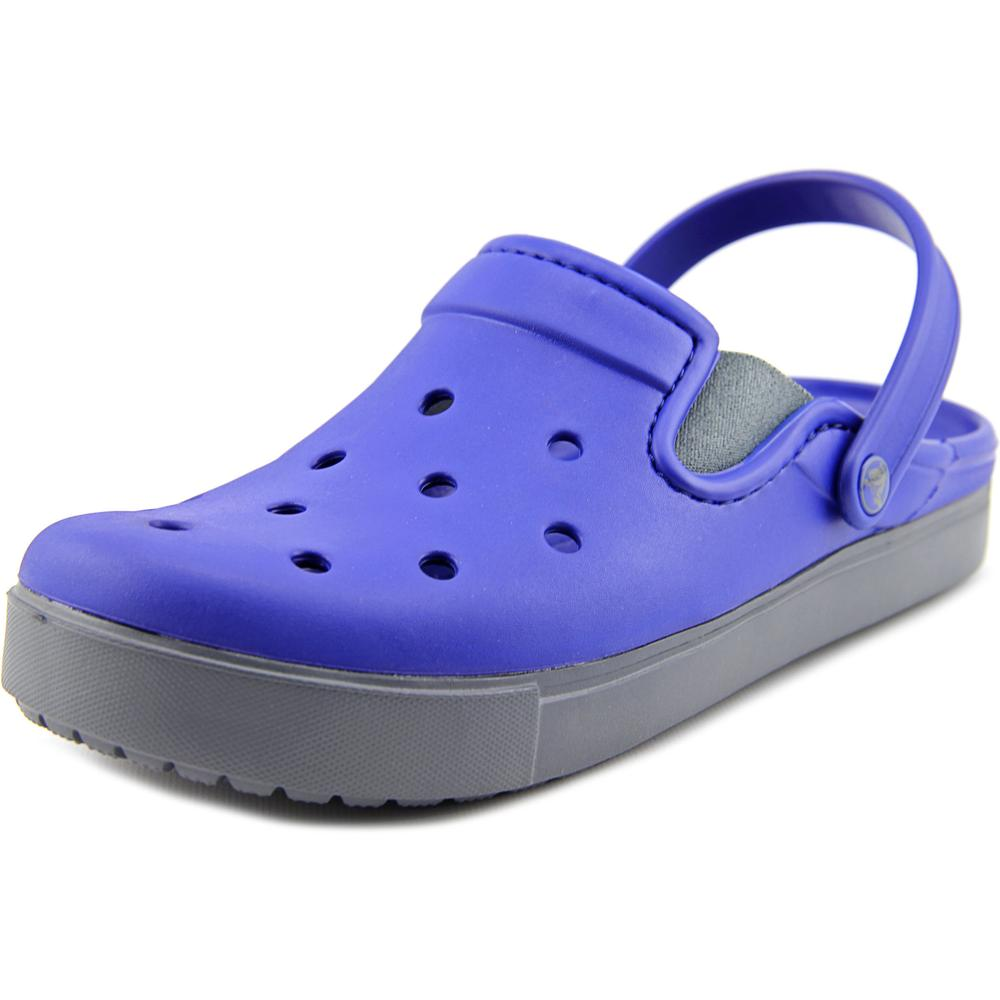 Crocs Citiliane clog Men Round Toe Synthetic Blue Clogs by Crocs
